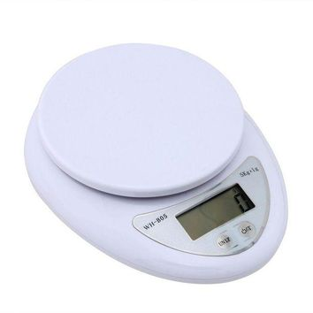 ONETOW new mini digital lcd electronic scales 1g 5kg home kitchen pharmacy weight balance 95176