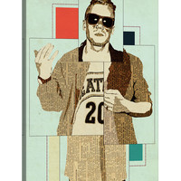 Macklemore by Kyle Mosher (Canvas)