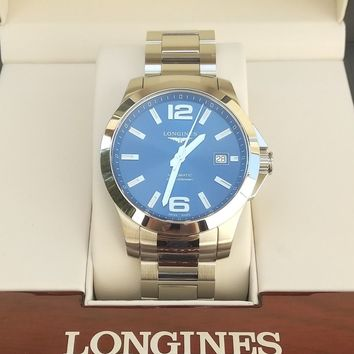 Longines Conquest Automatic Blue L36764996 L3.676.4