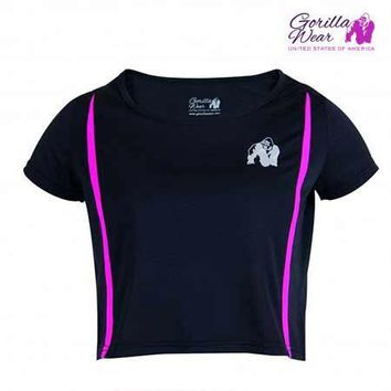 Gorilla Wear Women's Columbia Crop Top