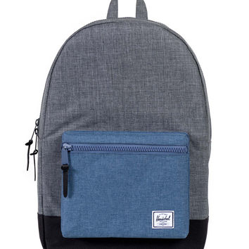 Herschel Supply Co. - Settlement Backpack (Charcoal Crosshatch/Navy Crosshatch)