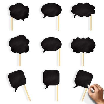 ONETOW Hoomall 10PCs/set Funny Photo Booth Props DIY Mariage Photobooth Baby Bridal Shower Wedding Decoration Birthday Party Supplies