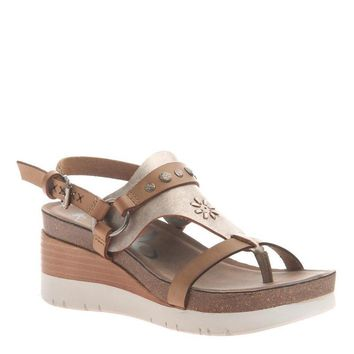 New OTBT Women's Sandals Maverick in New Taupe