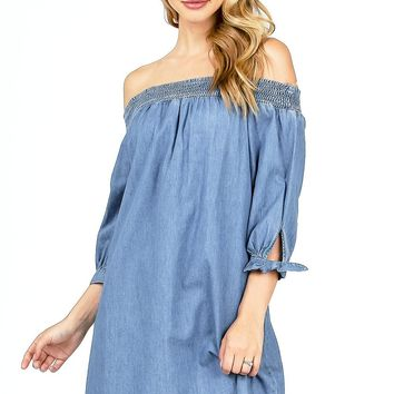 Soaring Off Shoulder Dress
