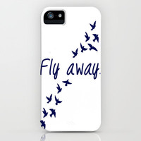 Fly Away. iPhone Case by Ian Layne | Society6
