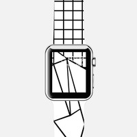 Abstraction Grid Watch Apple Watch case by Project M | Casetify