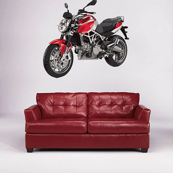 kcik57 Full Color Wall decal motorcycle racing speed strength bedroom living room for teens