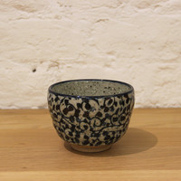Japanese tea cup with Vines