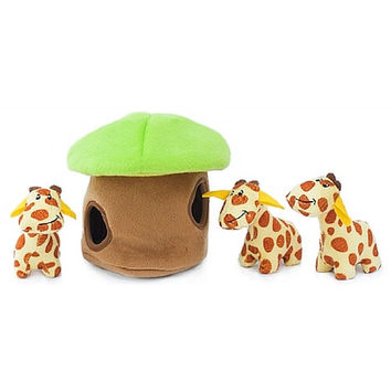 Giraffe Lodge Burrow Toy