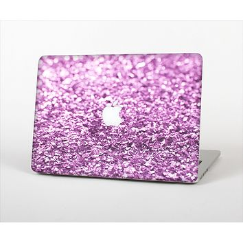 The Purple Glimmer Skin Set for the Apple MacBook Pro 13""
