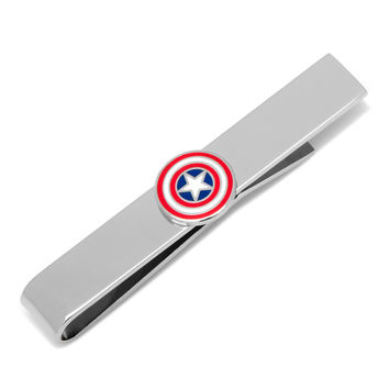 Captain America Shield Tie Bar
