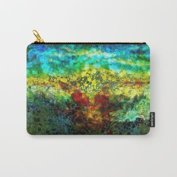 Sunset Carry-All Pouch by Jeanette Rietz