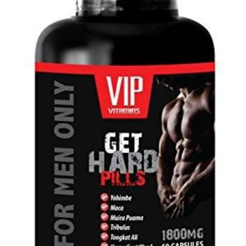 Male libido vitamin - GET HARD PILLS (FOR MEN ONLY) - Tongkat ali yohimbine - 1 Bottle 60 Capsules