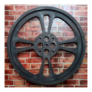 Loft Industrial Style Gear Wall Hanging Decoration    diameter 64cm