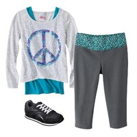 Girls' Yoga Pant Outfit