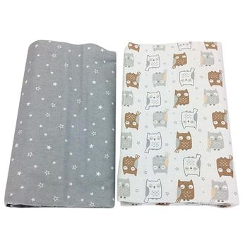 2 Pack Bed sheets for baby | 100% Cotton
