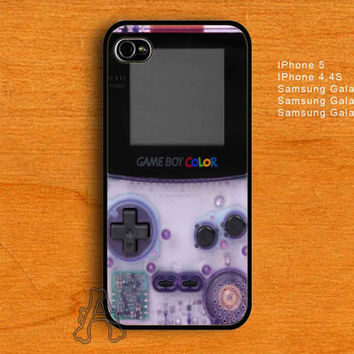 Nintendo Classic purple Gameboy-IPhone 4/4S/5 Case-Samsung Galaxy S2/S3/S4 Case-AA23072013-11