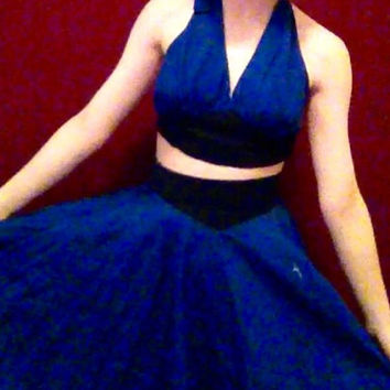 Steven Universe Lapis Lazuli Cosplay Dress (2 pieces)