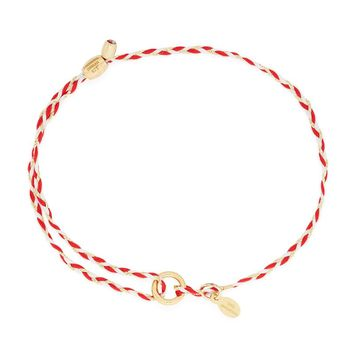 Red Precious Threads Bracelet