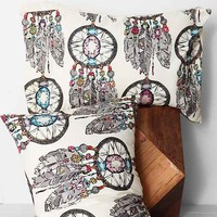 Sharon Turner for DENY Gemstone Dreamcatcher Sham Set- Multi One