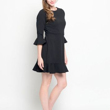 Structured Ruffle Tunic