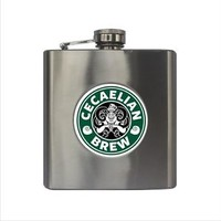 Starbucks Disney Inspired Ursula The Little Mermaid Villain 6oz. Hip Flask