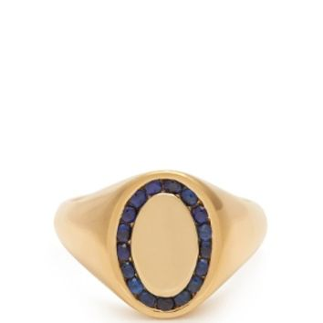 Sapphire & yellow-gold ring | Jessica Biales | MATCHESFASHION.COM UK
