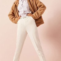 Belted Ankle Pants