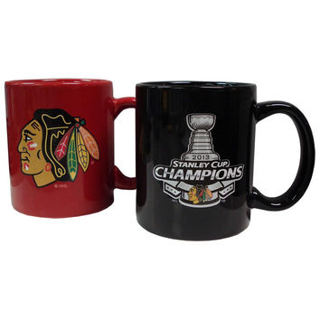 Hunter 2 pack Coffee SC13 Chicago Black Hawks