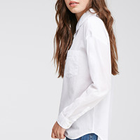 Boxy Button-Down Shirt