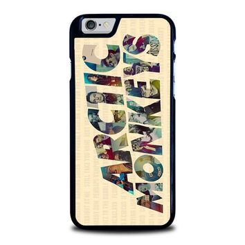 arctic monkeys characters iphone 6 6s case cover  number 1