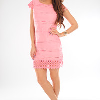 Way You Look Tonight Dress: Pink Bubblegum