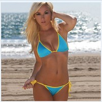 Hot Summer Swimsuit Beach New Arrival Sexy Patchwork Swimwear Bikini [7767306951]