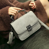 Chic Small Leather Crossbody Handbag Shoulder Bag