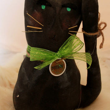 Black Primitive Cat