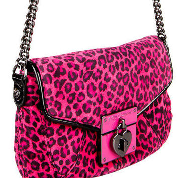 CHEETAH BABE CROSS BODY BAG - Betsey Johnson
