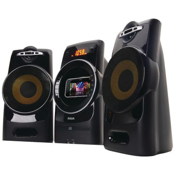 Rca Gyro Shelf System With Iphone And Ipod Dock