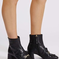 MAXIMUM Fringe Loafer Boots - Shoes