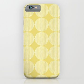 Sunny Circles iPhone & iPod Case by All Is One