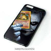 Joker Pokemon Card Design for iPhone 4 4S 5 5S 5C 6 6 Plus, and iPod Touch 4 5 Case