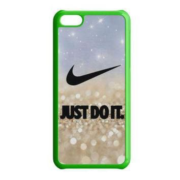 CREYUG7 Nike Jordan Mint Wood iPhone 5C Case