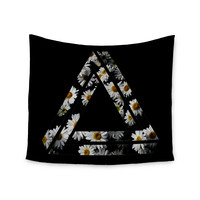 "Alias ""Impossible Daisy Chain"" Black Yellow Wall Tapestry"