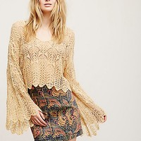 Free People Once An Angel Pullover