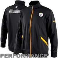 Nike Pittsburgh Steelers Empower Knit Performance Jacket - Black