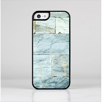 The Blue Marble Layered Bricks Skin-Sert Case for the Apple iPhone 5c