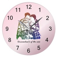 Descendants of the sun large clock