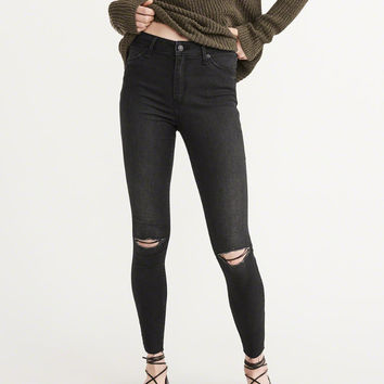 Womens Super Skinny High-Rise Jeans | Womens New Arrivals | Abercrombie.com