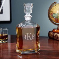 Argos Monogrammed Liquor Decanter