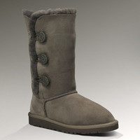 UGG® Kid's Bailey Button Triplet | Classic Tall Sheepskin Boots for Kids at UGGAustralia.com