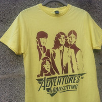 Adventures in Babysitting 80s movie tshirt t-shirt t shirt Keith Coogan